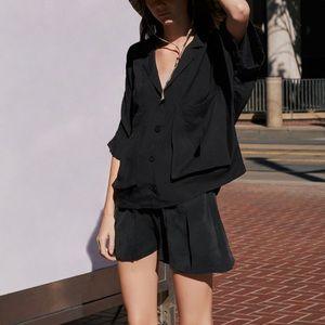 Zara flowy shorts with pockets